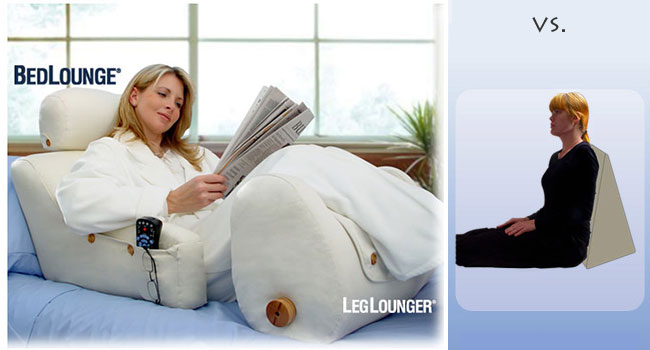 Foam Bed Wedge And Other Reclining Reading Support Pillows