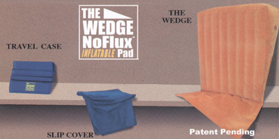 Inflatable Bed Wedge - Included Accessories