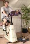 exercise bike reading stand