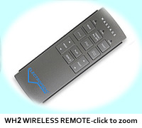 Electropedic Bed WH2 wireless remote