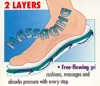 Massaging Gel Insoles