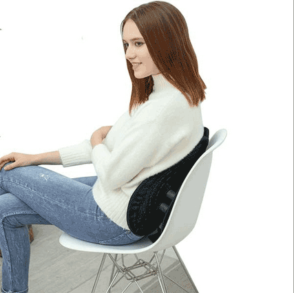 Hug My Back Active Sitting Lumbar Support For Chair