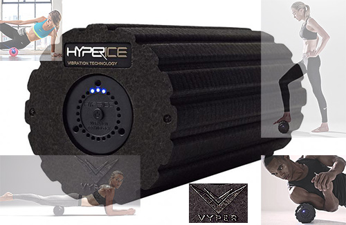 Hyperice Vyper Foam Fitness and Recovery Roller with vibrational therapy