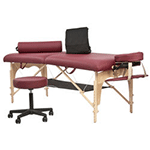 Massage Room Accessories, Table Equipment Options and Disposables