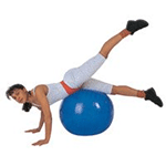 TheraGear® Swiss Exercise Balls | Free Pump