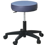 Pneumatic Rolling Stool - Duratouch