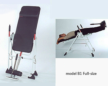 Model B1 Back-A-Traction Home Use Full Length Inversion Table