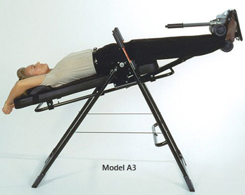Model A3 Back-A-Traction Professional Extra Thick Padding Inversion Table