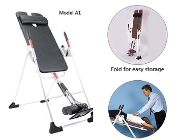 Mastercare Back-A-Traction Professional Clinic Use Gravity Inversion Tables