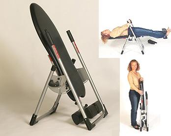 Mastercare Back-A-Traction Home Use Gravity Inversion MINI model M1 Table