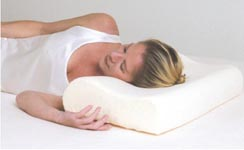 memory foam pillow by nimblepedic