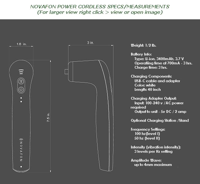 Novafon Power schematic detailed specs and measurements