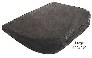 large memory foam seat wedge