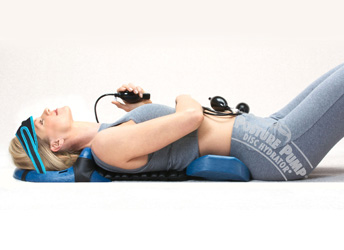 Restore Normal Posture and Spinal Curves with Full Spine Posture Pump