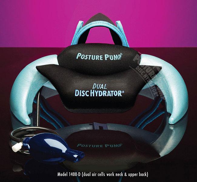 Dual Neck Disc Hydrator 1400D