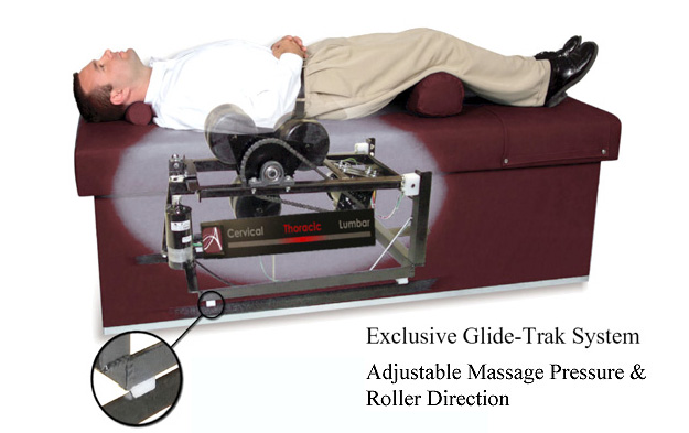 Quantum 400 Intersegmental Traction Roller Massage Table