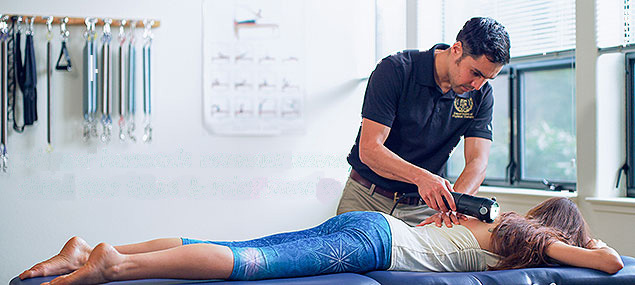 great general treatment for trigger points and spasms of the back