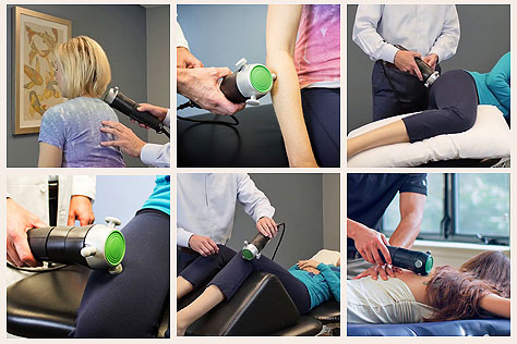 Areas to treat with Rapid Release Pro 2, harmonic resonance or vibrational frequencies of tissue