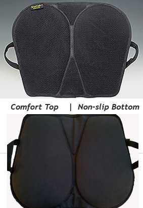 Comfort Top Fabric with Non-slip Bottom that stays in place