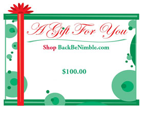 Gift Certificate for Back Pain and Comfort