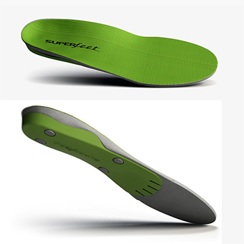 Superfeet Green Premium Synergizer Insoles