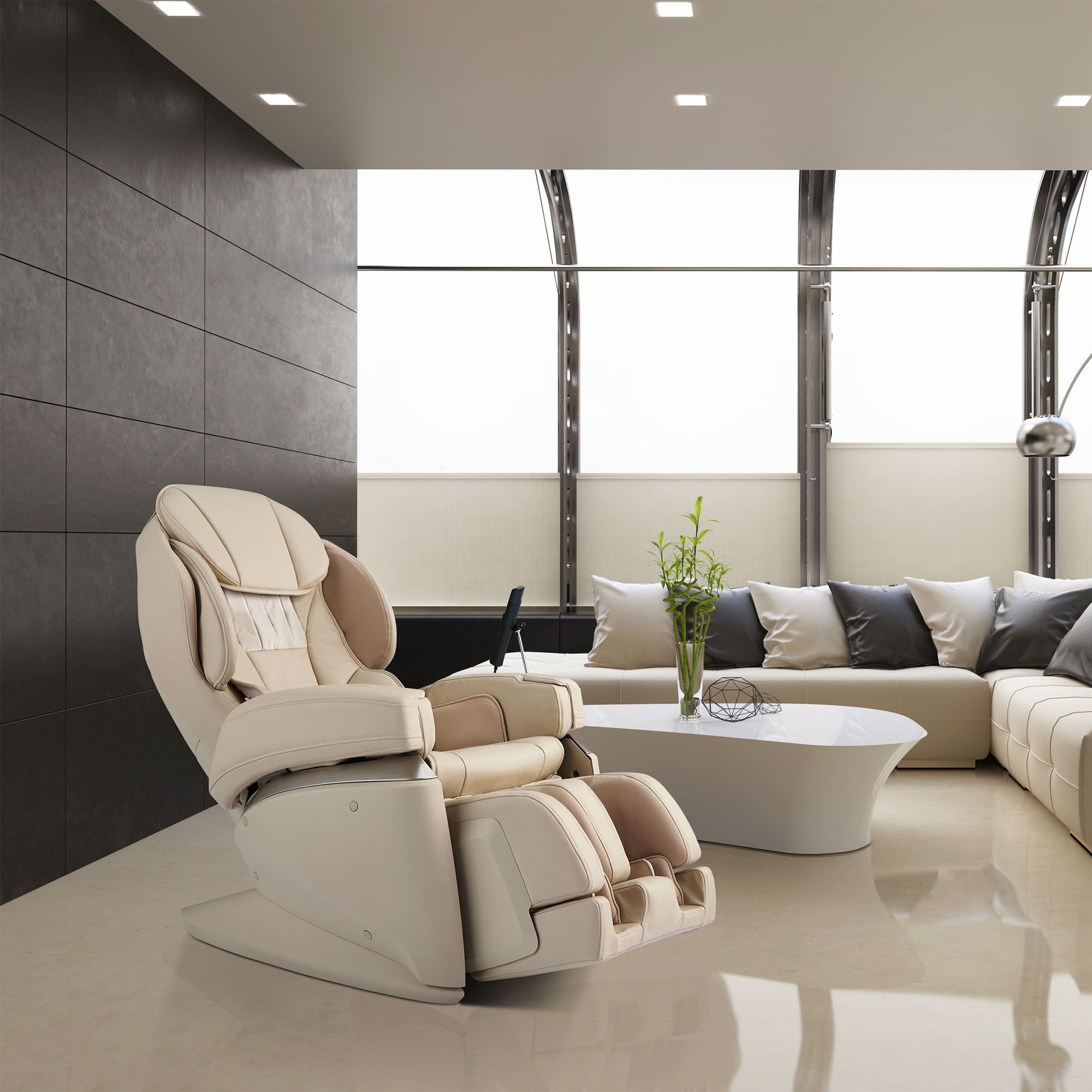 Synca JP1100 Massage Chair and Recliner - Chiropractor's Choice