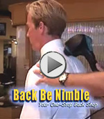 Welcome to www.BackBeNimble.com Stress and Back Pain Solutions