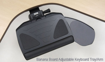 Workrite Banana Board Keyboard Tray System 2128