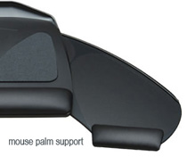 Workrite 2120 Mouse Palm clip-on Support